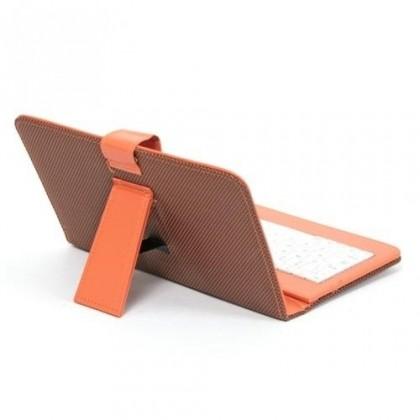 """OSTATNÍ Tablet pouzdro s klávesnicí OMEGA OCT7KBIB, univerzální, 7"""" oranž"""