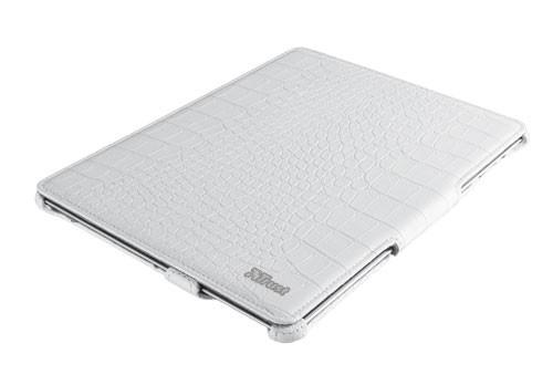 OSTATNÍ Trust Hardcover Skin&Folio Stand for iPad - croc white