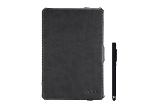 OSTATNÍ Trust Hardcover Skin & Folio Stand for iPad mini with stylus pen