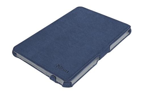 OSTATNÍ Trust Stile Hardcover Skin & Folio Stand for iPad mini - blue