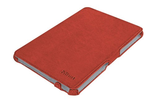 OSTATNÍ Trust Stile Hardcover Skin & Folio Stand for iPad mini - red POUŽ