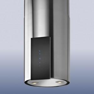 Ostrůvkový odsavač par Odsavač par Guzzanti ORW glass