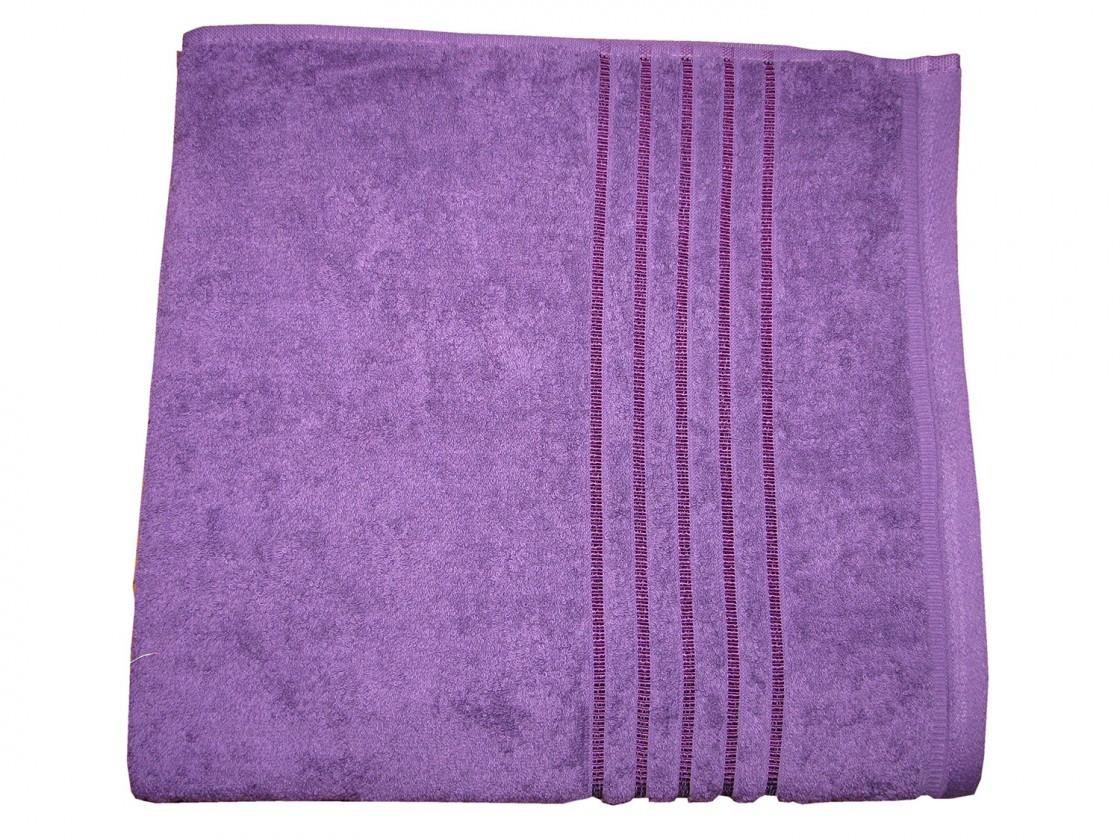 Osuška Proužek-Stripe fialová