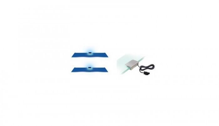 Osvětlení 2 LED pro Vitrínu 120 (modrá)