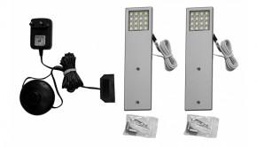 Osvětlení IZ92 (Bílá/Hliník)
