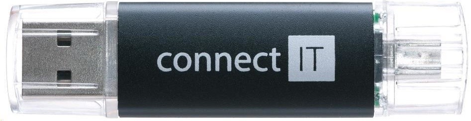 OTG flash disky Connect IT OTG 8GB černý