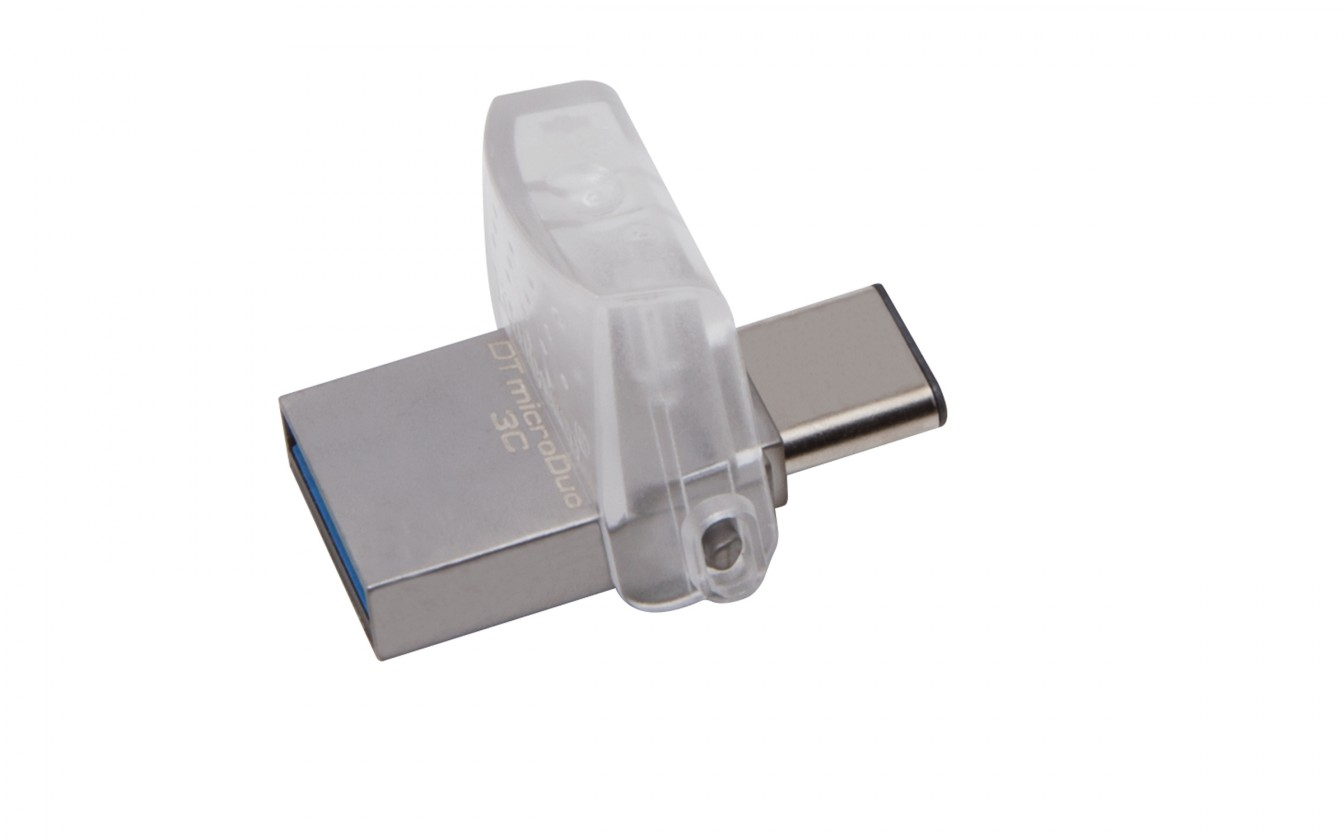 OTG flash disky Kingston DataTraveler MicroDuo 3C 32GB USB 3.0 (DTDUO3C/32GB)