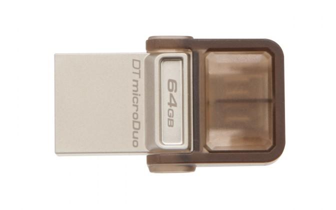 OTG flash disky Kingston DataTraveler MicroDuo 64GB - DTDUO/64GB