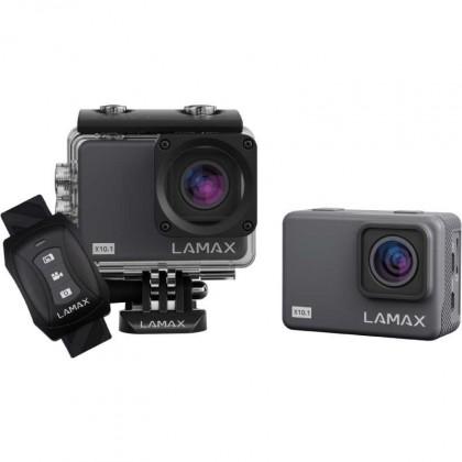 """Outdoorová kamera Akční kamera Lamax X10.1 2"""", 4K, WiFi, 170°+ přísl."""