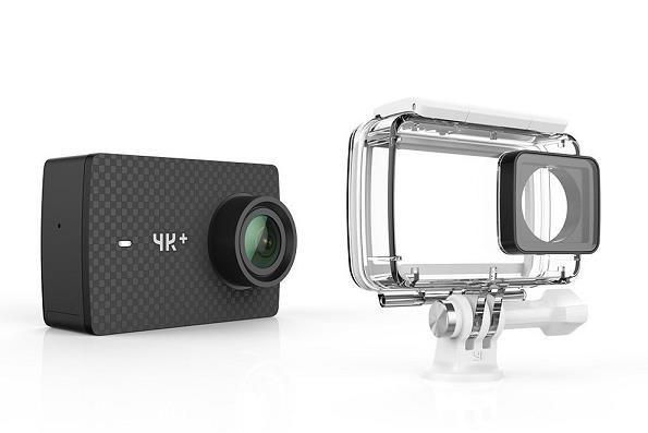Outdoorová kamera Akční kamera Xiaomi YI 4K+, WiFi, záběr až 155° + voděodolný kryt