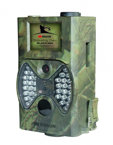 Outdoorová kamera BRAUN fotopast ScoutingCam Black 300 (5Mpx, 36xIR)