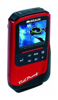 Outdoorová kamera BRAUN VidiProof HD (fullHD,microSD,HDMI,2xAA)
