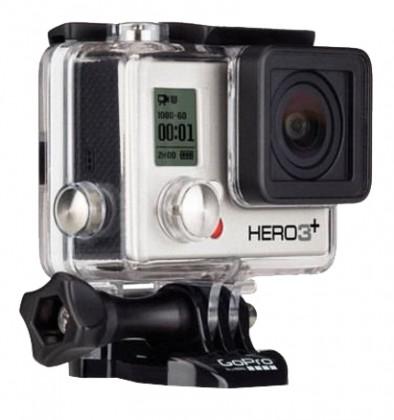 Outdoorová kamera GOPRO HD Hero 3+ Silver Edition