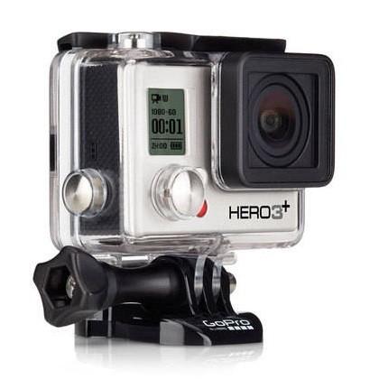 Outdoorová kamera GOPRO HD Hero 3+ Silver Edition ROZBALENO