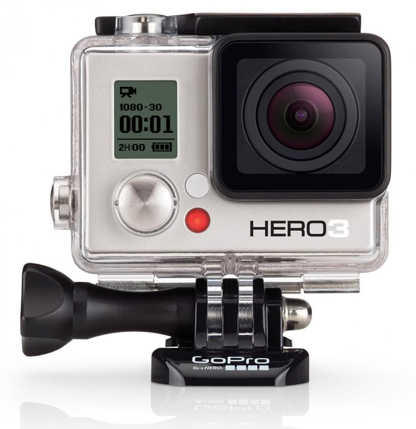 Outdoorová kamera GOPRO HD Hero 3 White Edition ROZBALENO