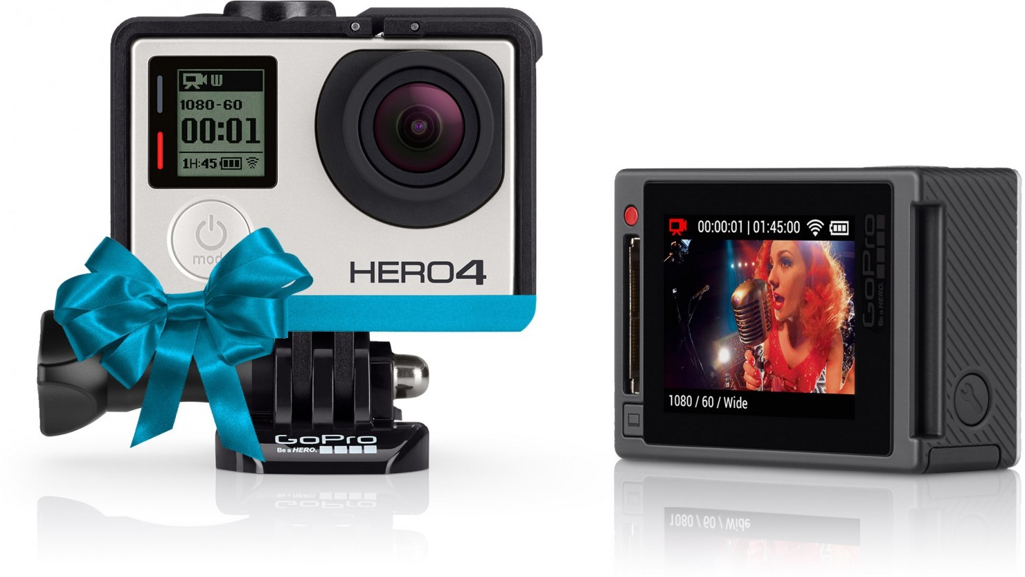 Outdoorová kamera GoPro Hero 4 Silver Music