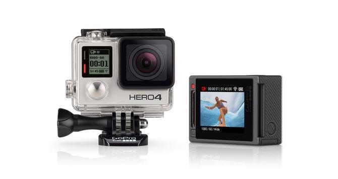 Outdoorová kamera GoPro Hero 4 Silver Surf