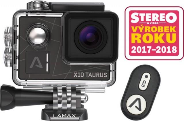Outdoorová kamera Lamax X10 Taurus + 20 kusů příslušenství
