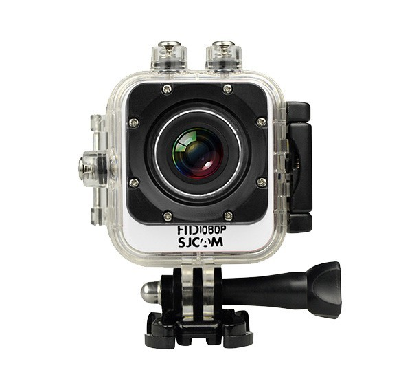 Outdoorová kamera SJCAM M10 CUBE sportovní kamera - bílá