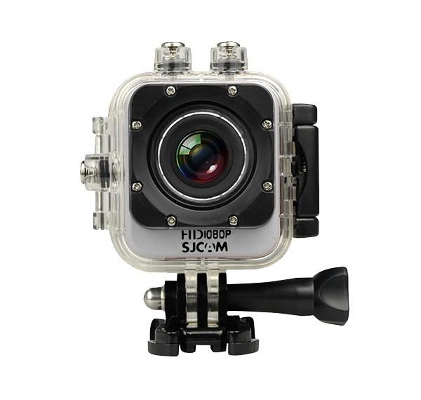 Outdoorová kamera SJCAM M10 CUBE sportovní kamera - stříbrná