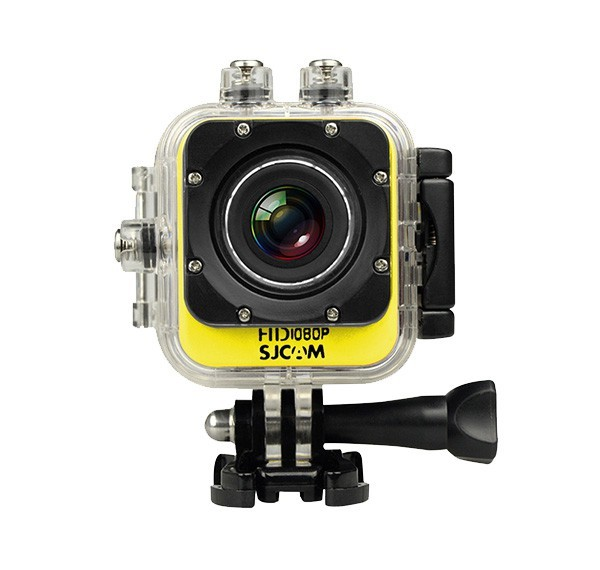Outdoorová kamera SJCAM M10 CUBE sportovní kamera - žlutá
