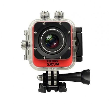 Outdoorová kamera SJCAM M10 CUBE WIFI sportovní kamera - červená