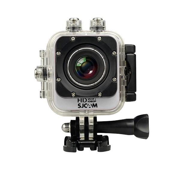 Outdoorová kamera SJCAM M10 CUBE WIFI sportovní kamera - stříbrná