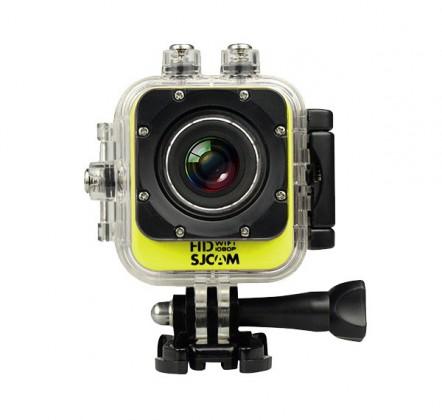 Outdoorová kamera SJCAM M10 CUBE WIFI sportovní kamera - žlutá