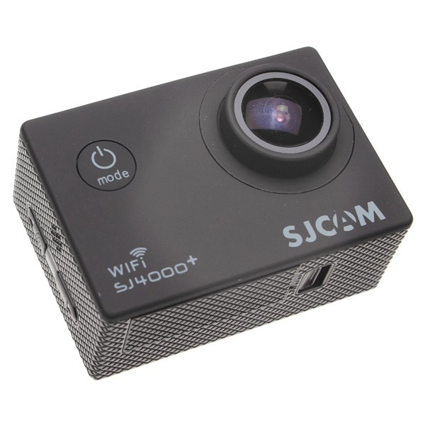 Outdoorová kamera SJCAM SJ4000 PLUS sportovní kamera - černá