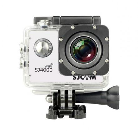Outdoorová kamera SJCAM SJ4000 WIFI sportovní kamera - bílá