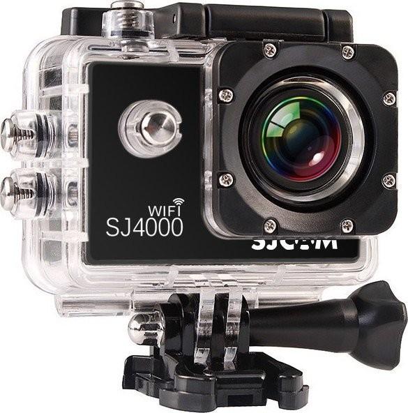 Outdoorová kamera SJCAM SJ4000 WIFI sportovní kamera - černá