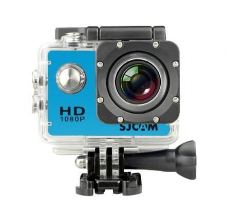 Outdoorová kamera SJCAM SJ4000 WIFI sportovní kamera - modrá