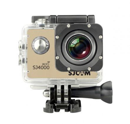 Outdoorová kamera SJCAM SJ4000 WIFI sportovní kamera - zlatá