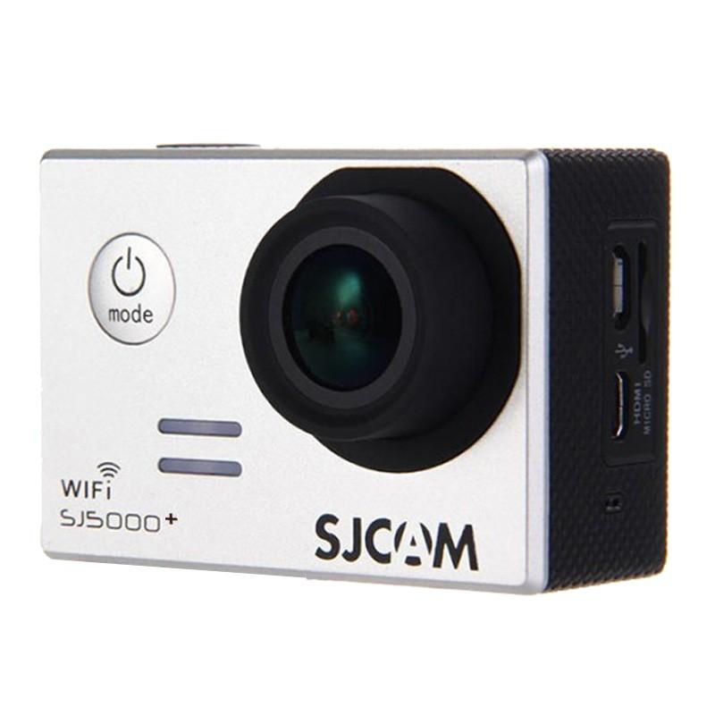 Outdoorová kamera SJCAM SJ5000 PLUS sportovní kamera - stříbrná