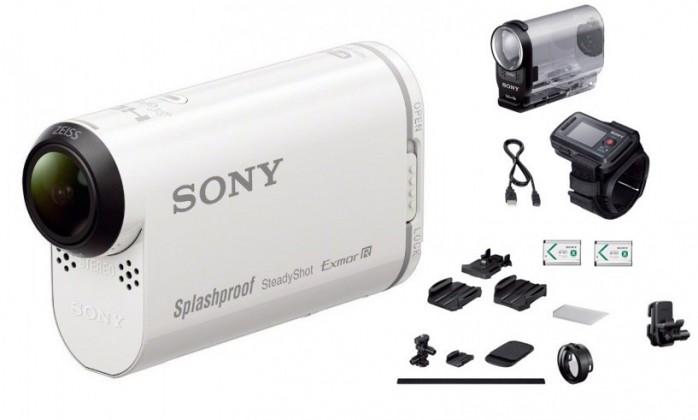 Outdoorová kamera Sony HDR-AS200VT+travel prřsluš.