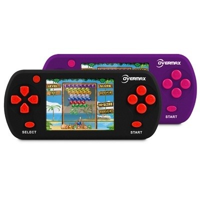 OverMax portable console, 132 her, 2.7'' LCD