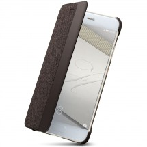 P10 Smart View Cover Brown