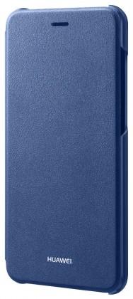 P9 Lite 2017 Flip cover Blue