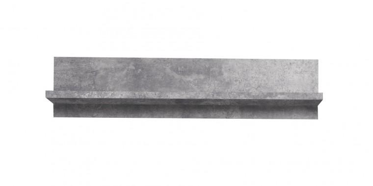 Paco - Polička PCOB01 (U39 - beton)