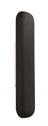 Palermo - Nástěnné osvětlení LED, 9,9cm (černá)