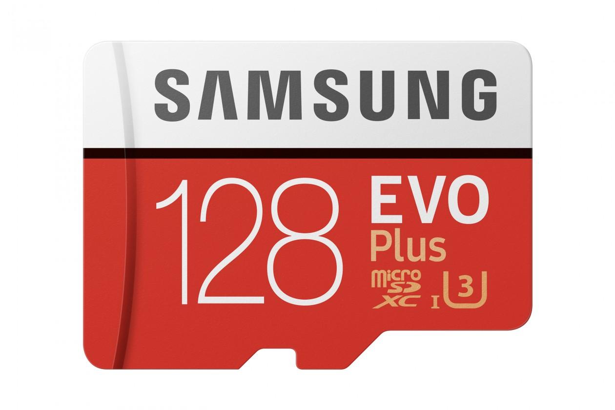 Paměťové karty 128 GB Samsung Micro SDXC karta 128GB EVO Plus + SD adaptér