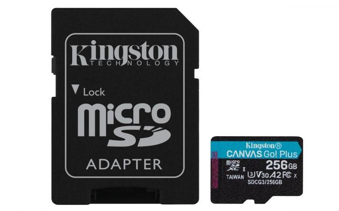 Paměťové karty 256 GB 256GB microSDXC KS A2 U3 V30 170MB/s + adapt.
