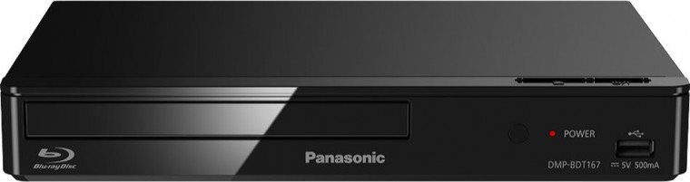 Panasonic DMP-BDT167EG, černý