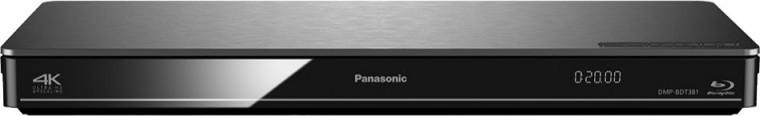 Panasonic DMP-BDT381EG, stříbrný