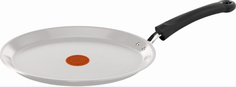 Pánev Tefal Ceramic control Induction C9083852, 25cm bílá