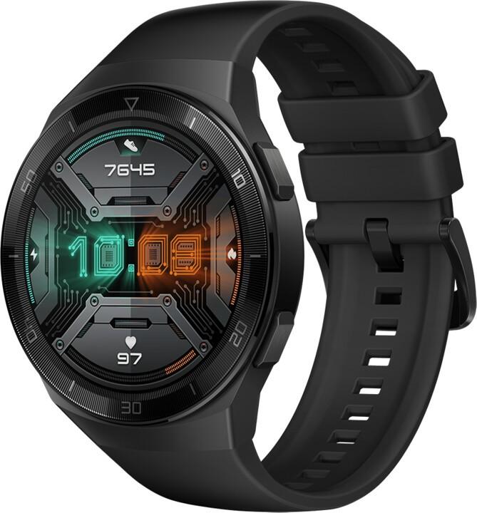 Pánské chytré hodinky Chytré hodinky Huawei Watch GT 2e, černá