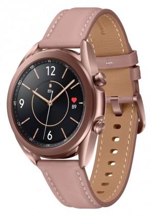 Pánské chytré hodinky Chytré hodinky Samsung Galaxy Watch 3, 41mm, bronzová