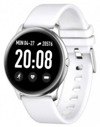 Pánské chytré hodinky Chytré hodinky Smartomat Roundband 2, bílá