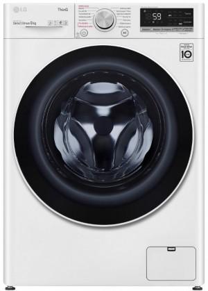 Parní pračka s předním plněním LG F49V5VW0W, 9kg