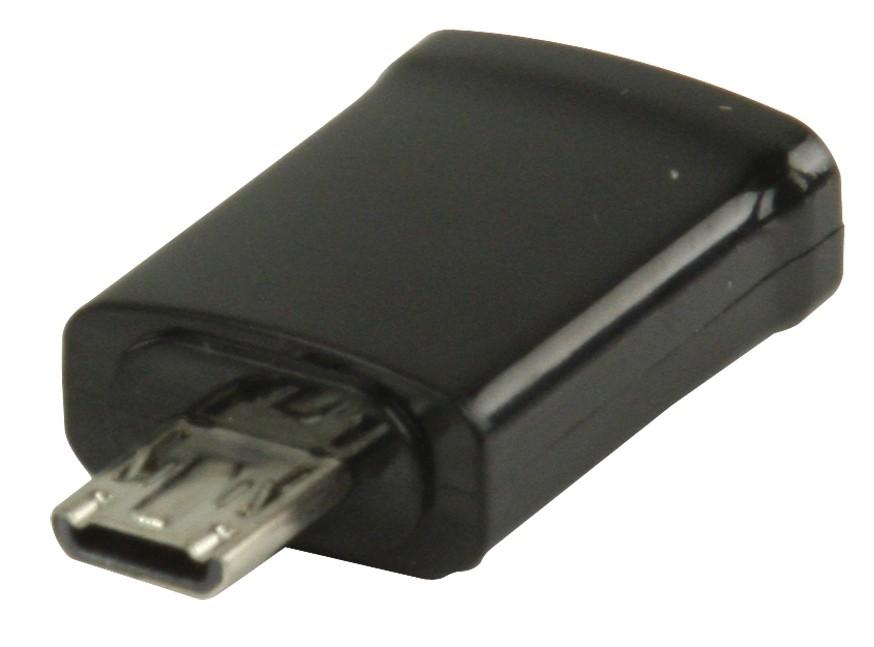 PC kabely Valueline MHL redukce,11-pin zástrčka USB microB-5-pin zásuvka